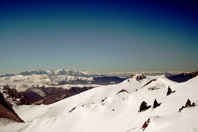 Vedere din Ciucaș