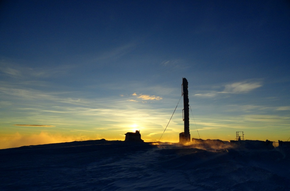 Instrumentele de măsurare de la stația meteo