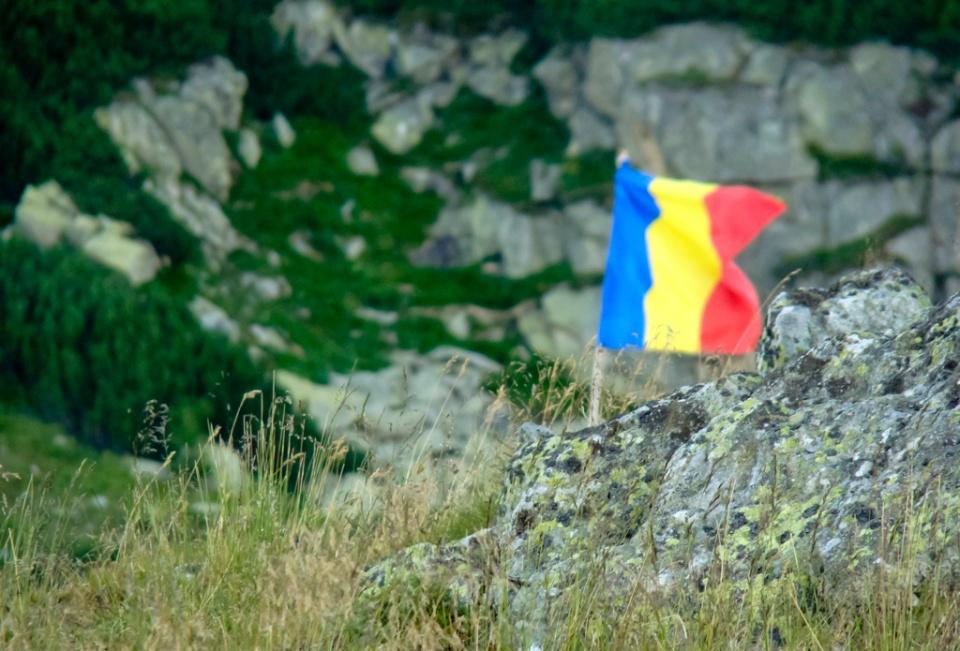 Tricolorul la Zănoaga