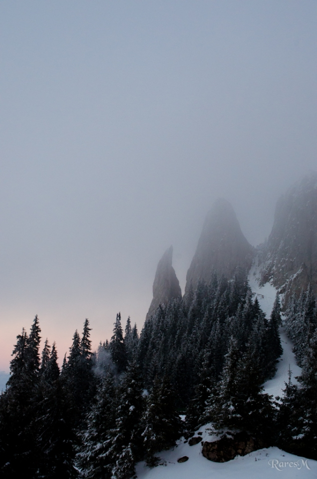 Se lasă ceața