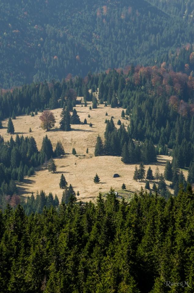 Vedere de pe Vârful Vlădeasa - 1836m